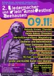 Zweites Liedermacher- und KleinKunstFestival, 09.11.2013